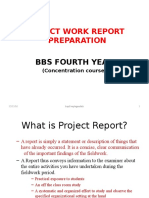 Guideline for Field Work Presentation