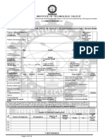 DR AR Application Form