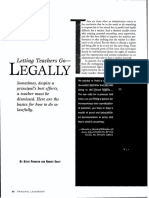 permuth -letting teachers go-legally