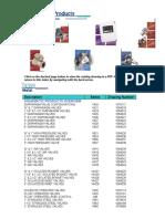 GE AquaMatic Products Catalog Rev Z