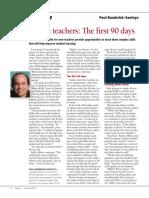 bambrick santoyo - leadership rookie teachers- the first 90 days