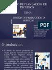 Diseño de Producción o Servicio