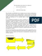 Grafica Del Recorrido Del Producto o Servicio