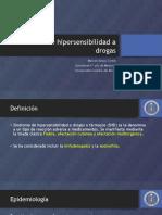 Seminario Sindrome de Hipersensibilidad a Drogas