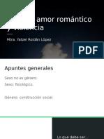 Género, amor romántico y violencia