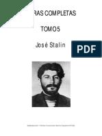 Stalin - Obras completas, Tomo V.pdf