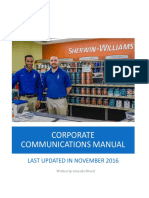 corporate communications manual final