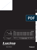 Roland Lucina Keytar (AX-09) - Manual