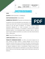 Proyectos Esc. 8vo. 2016 - 2017