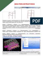 Programas Para Calculo de Estructuras