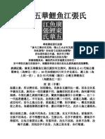 廣東五華鯉魚江張氏 121216