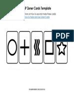 ES Zener Cards