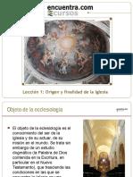 Leccion01ecclesiologia