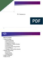 E-Commerce Summary Presentation