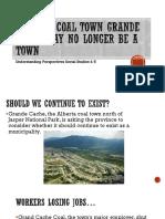 alberta coal town grande cache may no longer