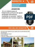 Instalacion de Biodigestor (Proyecto 4) Jueves