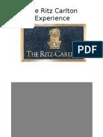 The Ritz Carleton Experience2