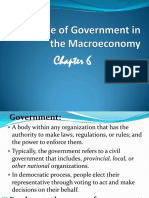 ECON CH 6 Role of Govt
