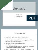 ATELEKTASIS