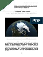El Cambio Climático y Su Repercusión en El Ecosistema Acuático Salado (Océanos)