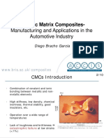 CMC Manufacturing and Applications