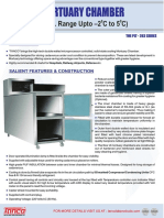 Mortuary Chamber - Manufacturer - Supplier - Tanco Lab Products