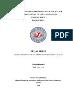 Analisis Penggunaan Jaringan Virtual Local Area Network (Vlan) Di Pt.union Routerlink Comunication Yogyakarta