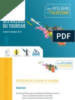 Dossier Les Ateliers Du Tourisme Restitution