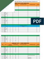 Academic Calendar 2016-17 Even Semester