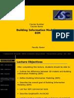 Sample Lecture Builiding Information Modeling v2