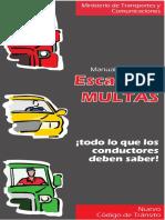 Manual de guantera - Escala de multas MTC.pdf