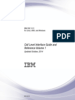 IBM DB2 10.5 for Linux, UNIX, And Windows - Call Level Interface Guide and Reference Volume 1