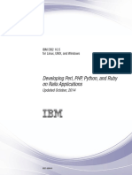 IBM DB2 10.5 for Linux, UNIX, And Windows - Developing Perl, PHP, Python, And Ruby on Rails Applications
