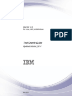 IBM DB2 10.5 for Linux, UNIX, And Windows - Text Search Guide