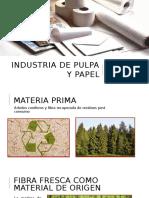 Industria de Pulpa y Papel (Presentación)