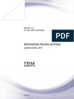 IBM DB2 10.5 for Linux, UNIX, And Windows - Administrative Routines and Views