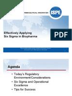 ISPE_SFChApplying6SigmaBiopharma