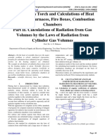 Modeling of a Torch and Calculations of Heat Transfer in Furnaces, Fire Boxes, Combustion Chambers