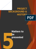 PROJECT BACKGROUND & HISTORY.pptx