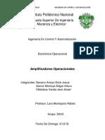 Amplificadores Operacionales (Sumador,Restador,Inversor,No Inversor,Derivador,Integrador)