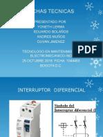 Interruptor Diferencial Ficha Tecnica