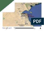 Location Map Kuwait substation