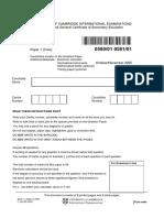 (Www.entrance-exam.net)-IGCSE Sample Paper 4