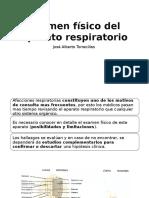 Examen Físico Del Aparato Respiratorio
