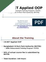 C#.NET Applied OOP Batch 2