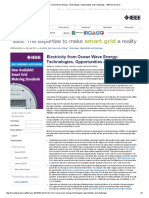 Electricity From Ocean Wave Energy_ Technologies, Opportunities and Challenges - IEEE Smart Grid