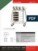 36303 Trolleys - Urinal Bedpan (Brochure)