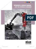 Breaker Operator's and Services Manual
