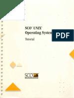 SCO Unix Tutorial v324c