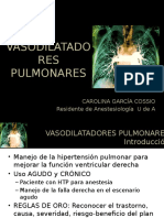 VASODILATADORES PULMONARES (1)